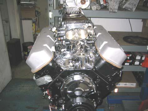 56 Chevy Pickup Big Block F2 ProCharger &amp- 871 Blower&quot-Blown Mafia ...
