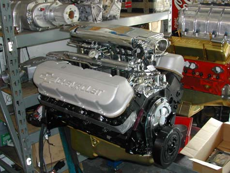 1957 Chevy Bel Air 2 door post sedan Gasser Hot Rod 468 / 4spd for ...